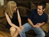 La madura Nina Hartley dejando seco al novio de su hija