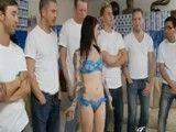 Todos esos machos para la maravillosa Joanna Angel
