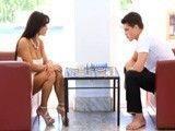 Hijo, si me ganas la partida de ajedrez te como la polla