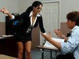 La profesora Ava Addams se deja follar por el alumno rebelde