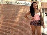 Paulova: universitaria e hija de militar grabando su primera follada