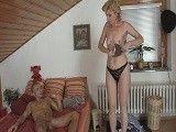 Esta abuela tenía muchas ganas de pillar a su nieto desnudo