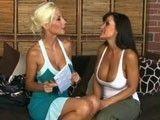 Puma Swede y Lisa Ann en una maravillosa escena lésbica