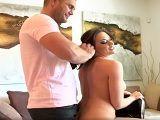 Nacho Vidal recibe la visita de la gran Chanel Preston