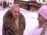 Nos ligamos a dos jóvenes rusas, nos las llevamos al hotel