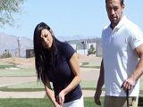 Audrey Bitoni se quiere follar al guapo entrenador de golf