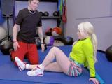 Hoy empiezo a entrenar con un nuevo entrenador, es joven