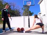 Ni puta idea de baloncesto, ahora, tiene un culo la hija puta