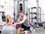 Nada como ir al gym y entrenar con un entrenador personal