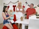 Nuestra familia adora la Navidad, nos lo pasamos en grande
