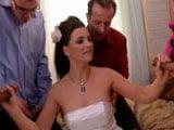 Jessica Fiorentino se lo monta con cinco invitados a su boda