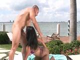 Follando con Miss Raquel con vistas al mar, quien da más?